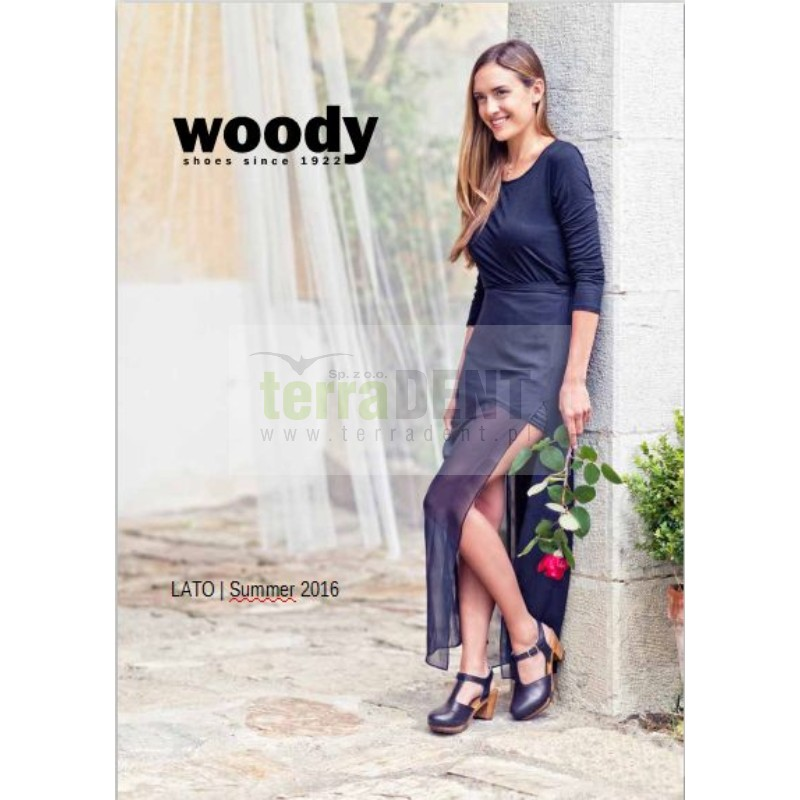 Obuwie medyczne damskie męskie chodaki skórzane firmy Woody Austria to buty elastyczne, idealnie dopasowują się do stopy. Drewno wierzbowe jest miękkie i bardzo wygodne, a jednocześnie lekkie. Chodaki medyczne nie zsuwają się, są dopasowane do stóp  - Katalog Woody LATO