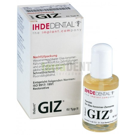 Varnish for glass-ionomer cements GIZ