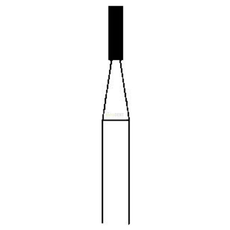 Wiertła diamentowe Proste (fig. 108,109)
