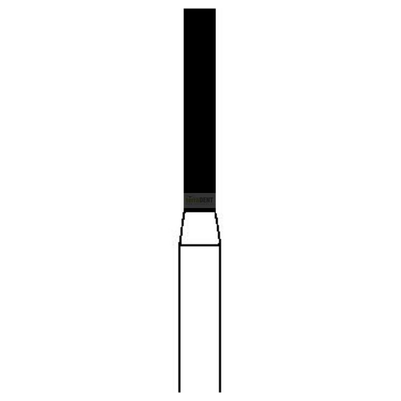 Wiertła diamentowe Proste (fig. 111) drobny, średni i gruby nasyp