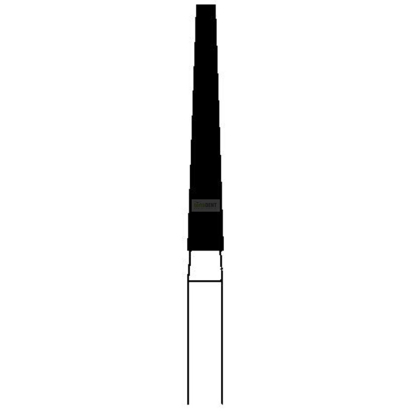 Wiertło Stożek ścięty dłuższe (fig. 174) średni nasyp