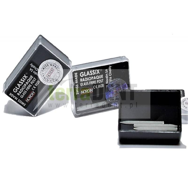 Radiopaque fibre posts Glassix 6 pcs