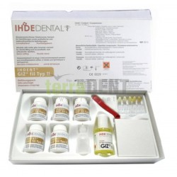 Glass-ionomer temporary cement IHDENT GIZ FIL TYP II starter kit