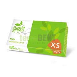 Rękawice nitrylowe Apple Green 100 szt DOMAN