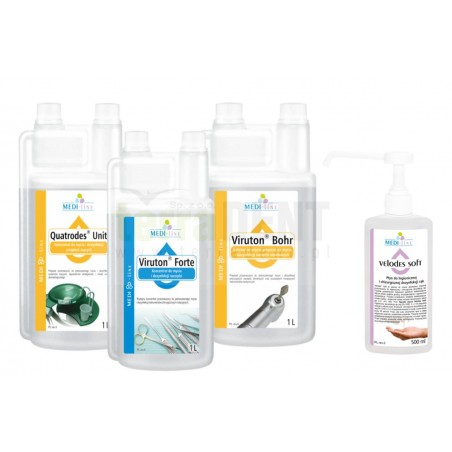 Dental disinfection MEDI-LINE pack 3