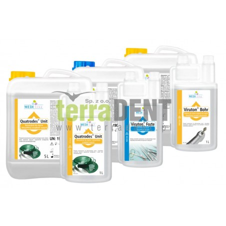 Dental disinfection MEDI-LINE pack 4