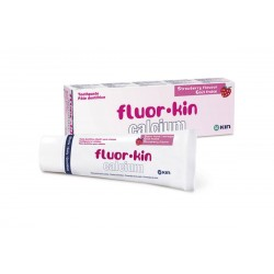 Toothpaste Fluor-Kin Calcium Strawberry 75ml