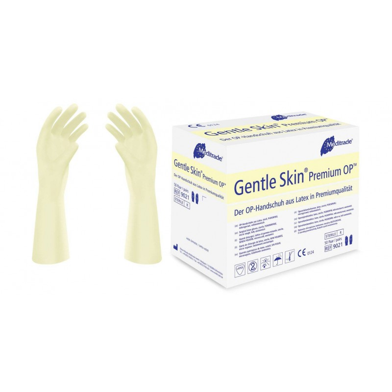 Latex gloves Gentle Skin Premium OP MED 1 pair