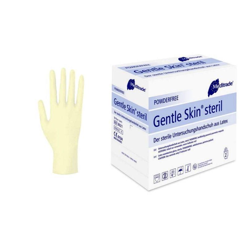 Rękawiczki lateksowe sterylne Gentle Skin Steril