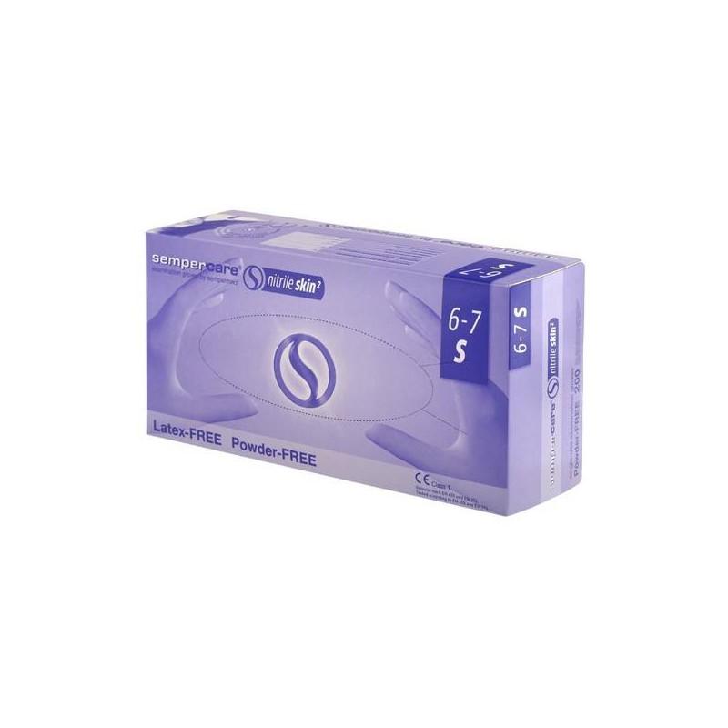 Rękawiczki nitrylowe SemperCare Nitrile Skin2 200szt