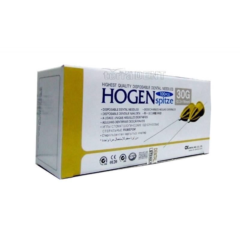 Dental needles for carpoule HOGEN 100pcs