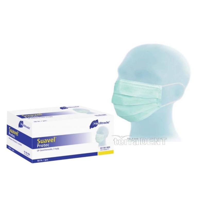 Surgical face mask Suavel Protec OP 50pcs