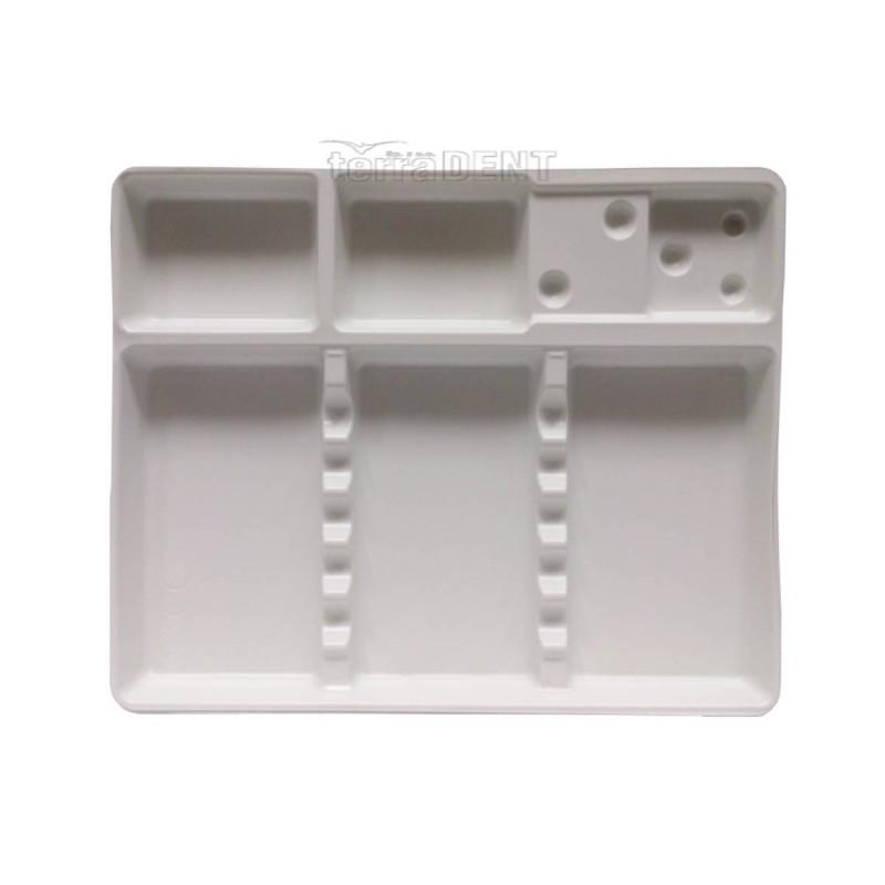 Tacki stomatologiczne małe białe 19x15cm 100szt