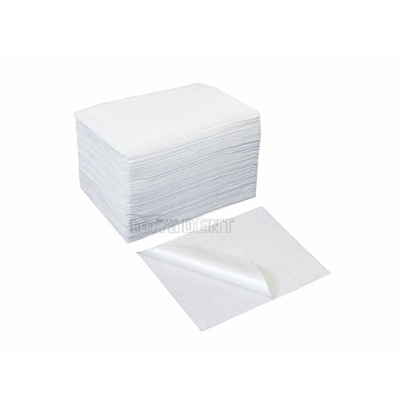 Ręczniki fryzjerskie z włókniny białe 70x50cm 100szt.