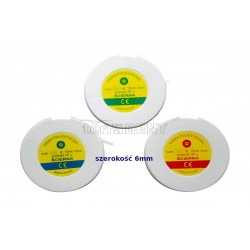 Abrasive polyester tape WPS 15mb 6mm