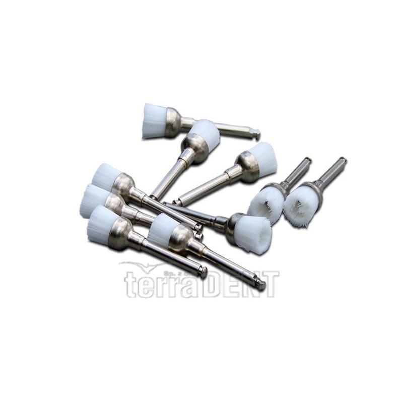 Nylon brushes for micro-motors