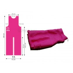 Łóżko gipsowe VACUFORM 75x200cm
