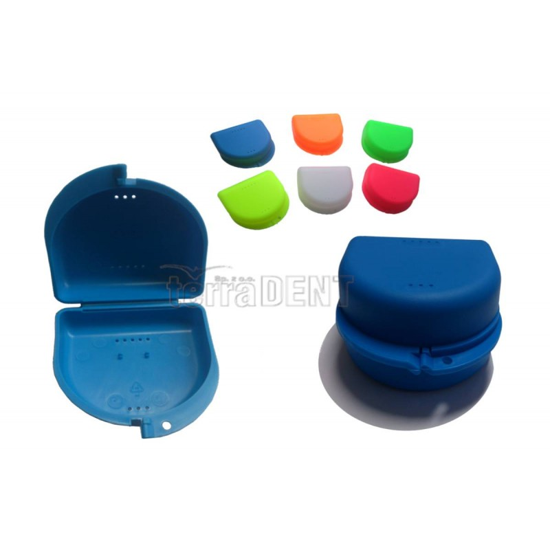 Boxes for orthodontic braces and dentures 7.5x8.5x4cm