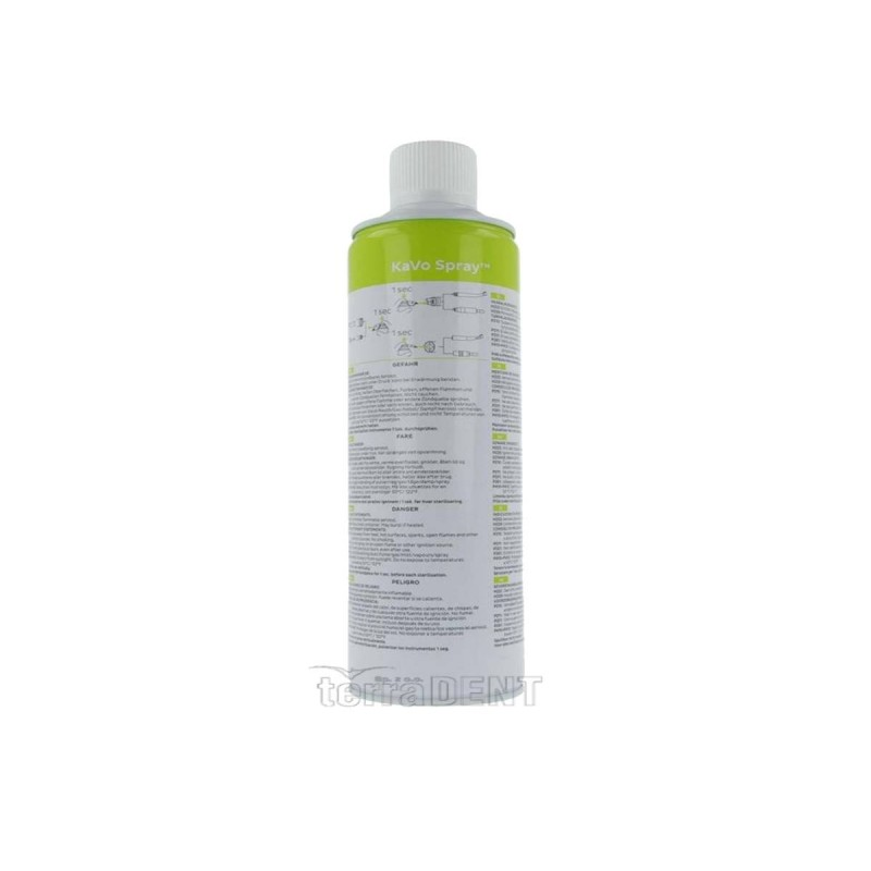 Cleaning agent for turbines and dental instruments KaVo Spray