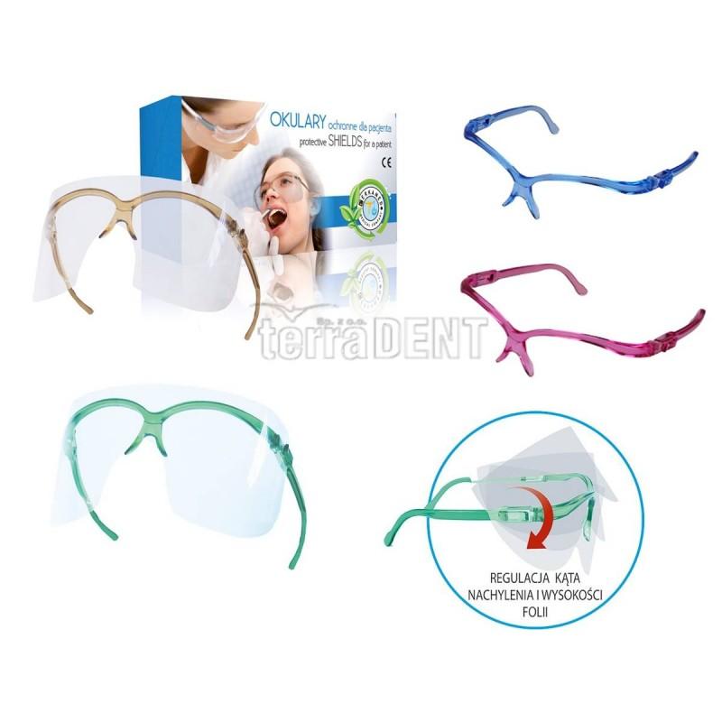 Okulary ochronne dla pacjenta Protective Shields