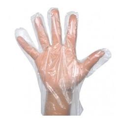 Rękawice ochronne foliowe...