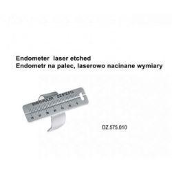 Endometr - linijka na palec